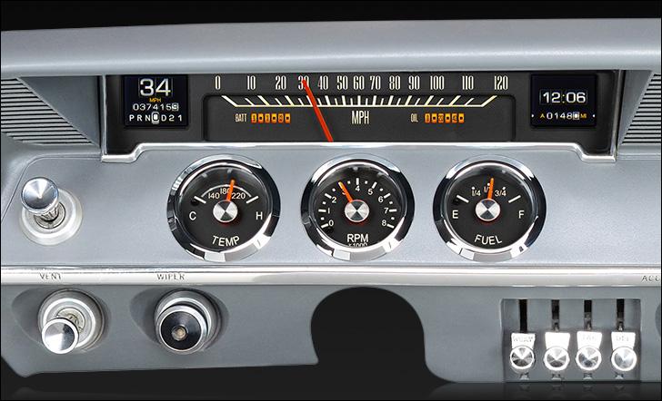 1961- 62 Chevy Impala RTX Instruments