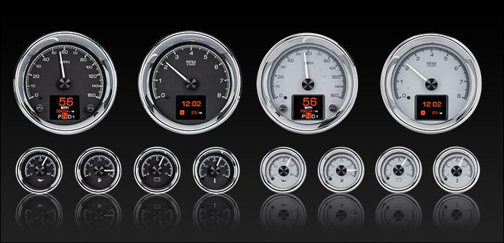 HDX-2024: Universal 6 Gauge Round, Analog HDX Instruments