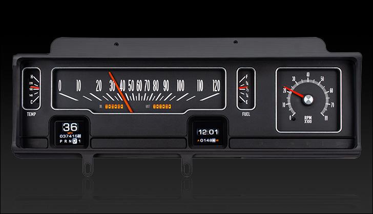 1970- 72 Chevy Malibu/ non SS Chevelle/ El Camino RTX Instruments
