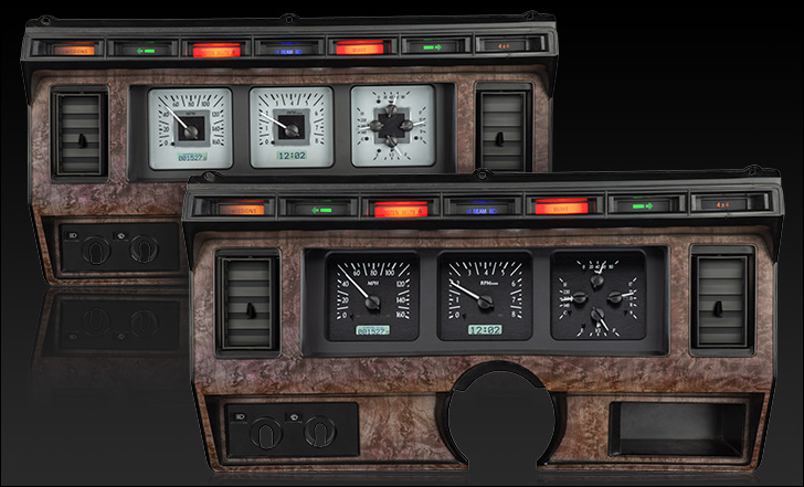 1980- 86 Ford Pickup and Bronco VHX Analog Instruments