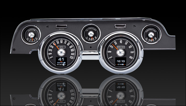 1967- 68 Ford Mustang RTX Instruments