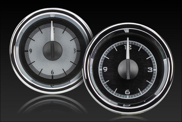 """2-1/16"""" Round Universal VHX Clock"""