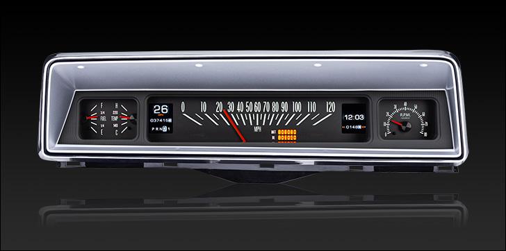 1966- 67 Chevy Nova RTX Instruments