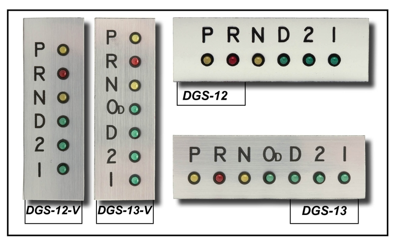 LED lights and plate for DGS-12 and DGS-13