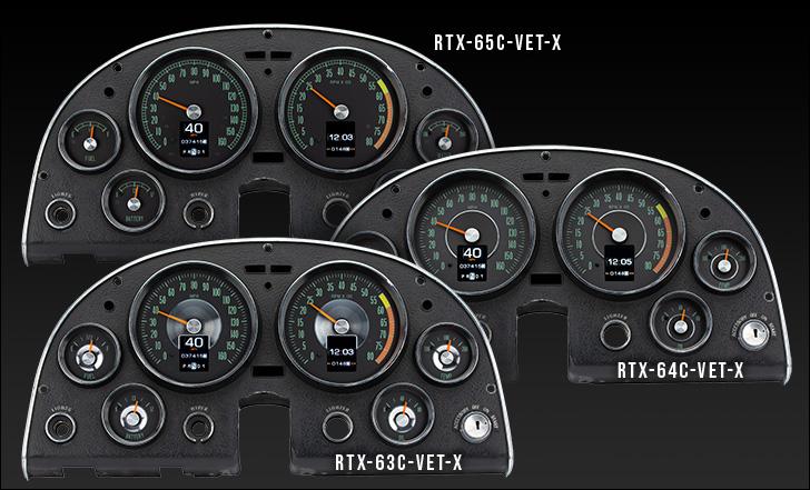 1963- 67 Chevy Corvette RTX Instruments