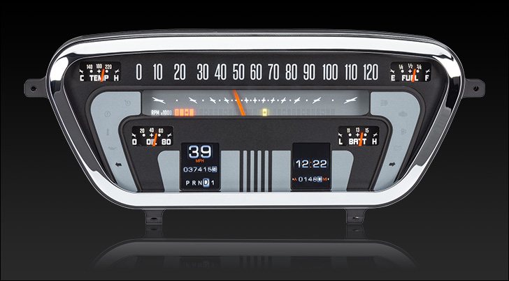 1953- 55 Ford Pickup RTX Instruments