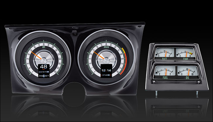 1968 Camaro with Console gauges RTX Instruments