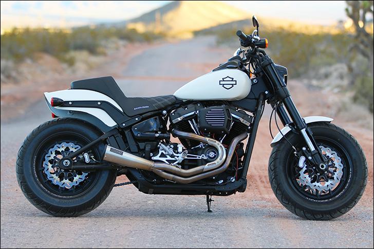 1 Wheel Revolution 2018 Harley Fat Bob