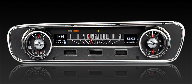 1964- 65 Ford Falcon, Ranchero and Mustang RTX Instruments