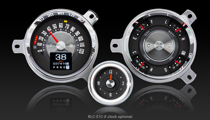 1951- 52 Chevy Car RTX Instruments