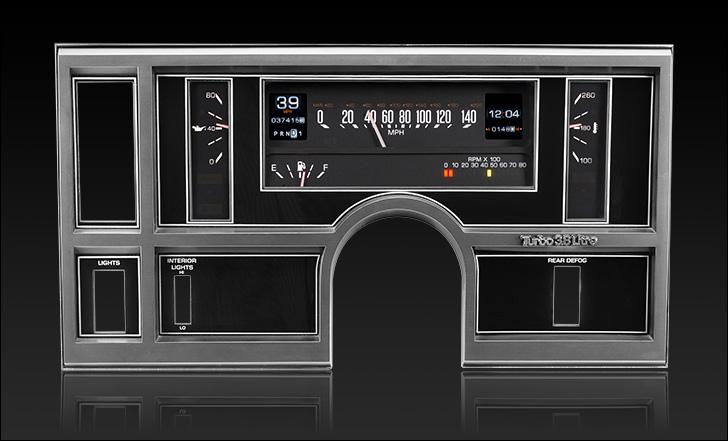 1984- 87 Buick Regal RTX Instruments