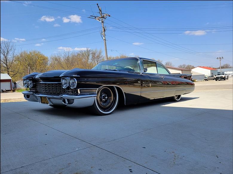 Stoner's Speed Shop Black Cadillac