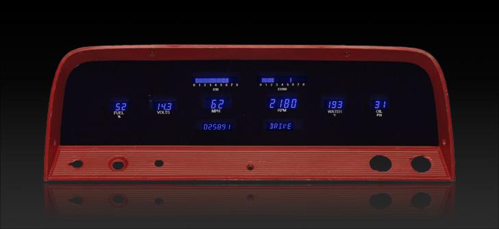 1964- 66 Chevy Pickup Digital Instrument System