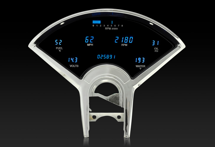 1955- 56 Chevy Digital Instrument System on