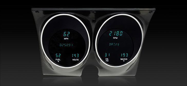 1967- 68 Camaro/ Firebird Digital Instrument System