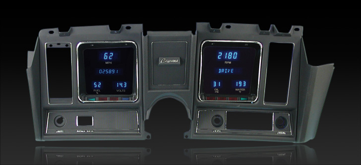 1969 Camaro Digital Instrument Cluster