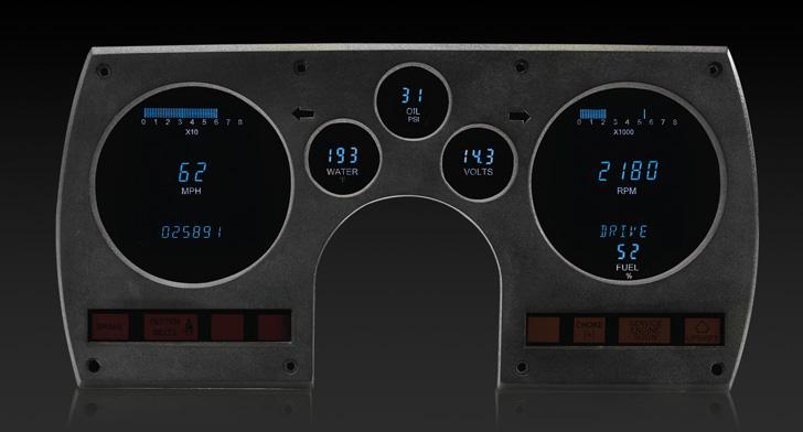 1982 - 1989 Chevy Camaro Digital Instrument System