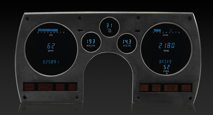 1982 - 1989 Chevy Camaro Digital Instrument System