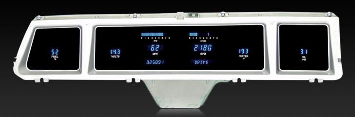 1966 Chevy Impala/ Caprice Digital Instrument System