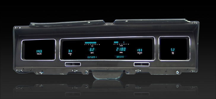 1968 Chevy Impala/ Caprice Digital Instrument System