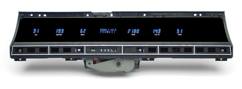 1969- 70 Chevy Impala/ Caprice Digital Instrument System