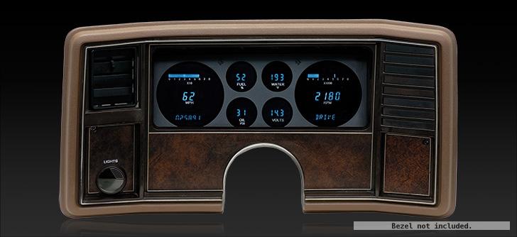1978- 88 Chevy Monte Carlo, 1978- 87 Chevy El Camino/ Malibu/ Caballero Digital Instrument System