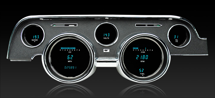 1968 Ford Mustang Digital Instrument System