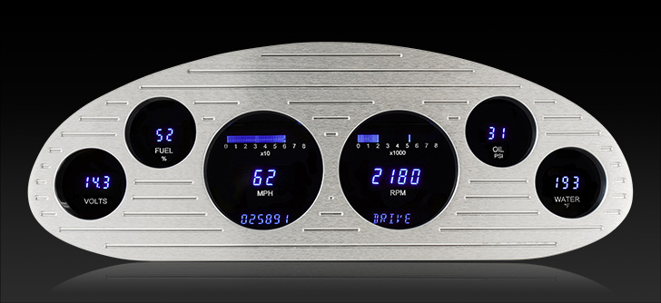 1933-35 Chevy Standard Digital Instrument System