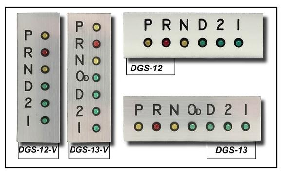 LED Gear Position Indicator