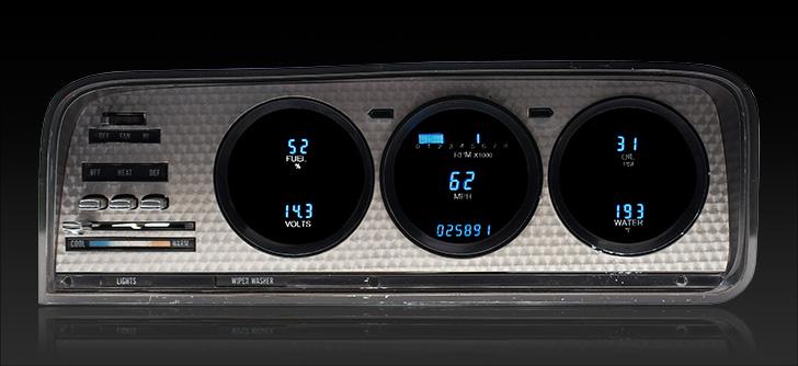 1973- 85 Jeep Wagoneer/ J-Trucks Digital Instrument System