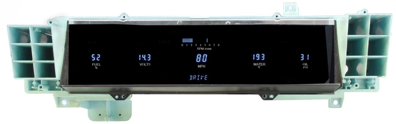 1991- 93 Chevy Caprice with Factory Analog Gauges