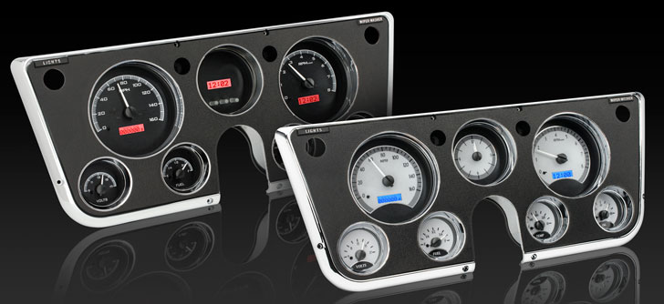 1967- 72 Chevy/ GMC Pickup VHX Instruments