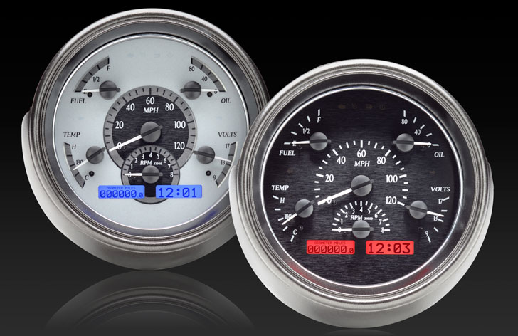 1951 Ford Car VHX Instruments