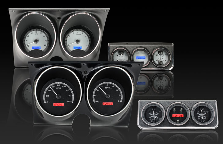 1967 Camaro with Console gauges VHX Instruments