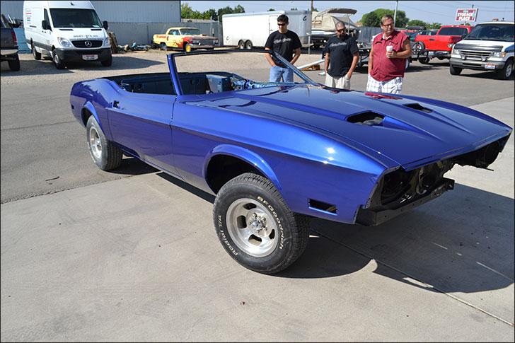 Rebuilding Generations Mustang