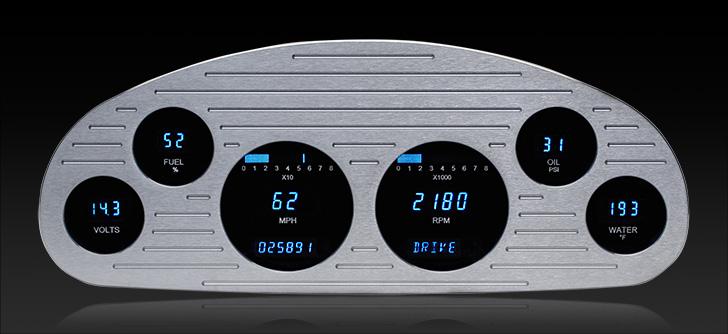 1933-34 Chevy Master Digital Instrument System