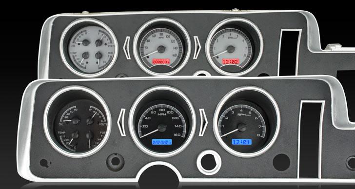 1968 Pontiac GTO/ Lemans/ Tempest VHX Instruments