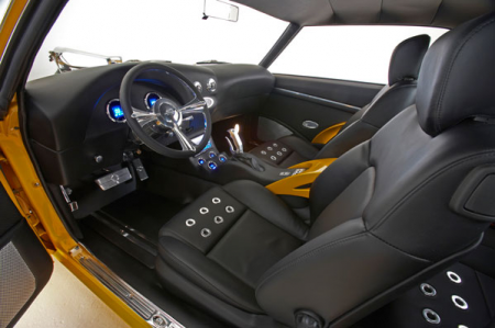 '69 Kamaro cockpit