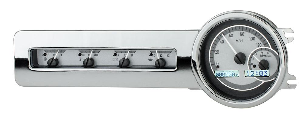 Silver Alloy Background, White Lighting