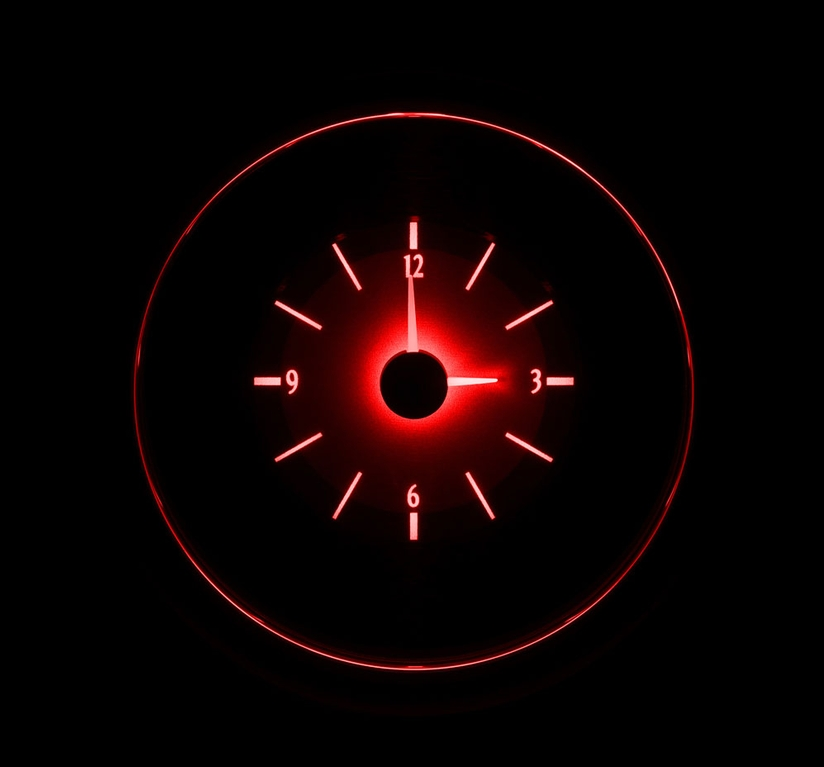 VLC-41C-S-R: Red Lighting at Night