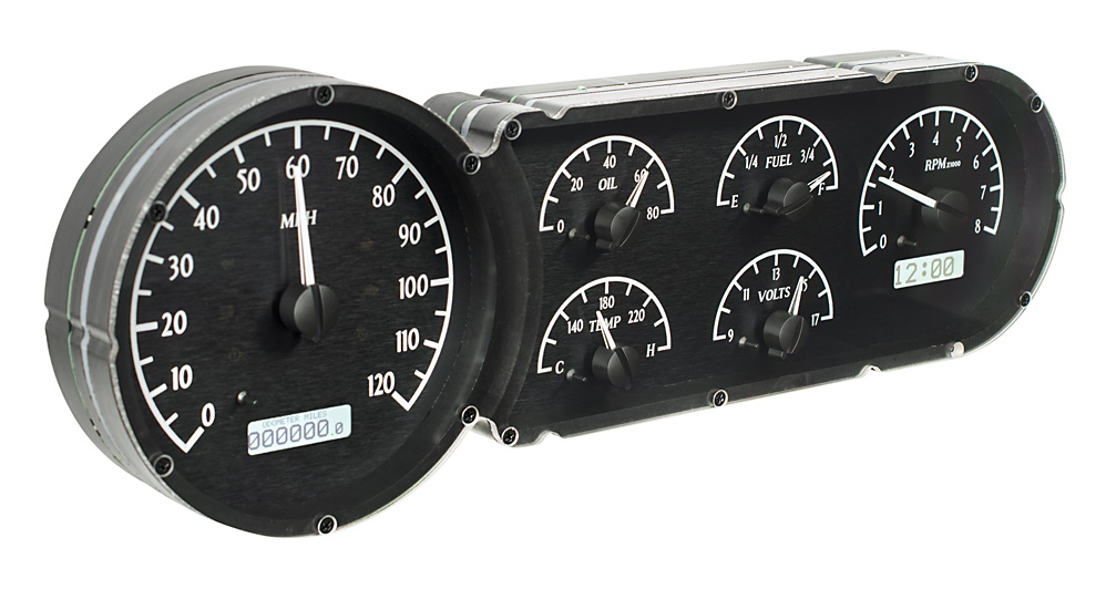 VHX-53C-K-W: Black Alloy Background, White Lighting