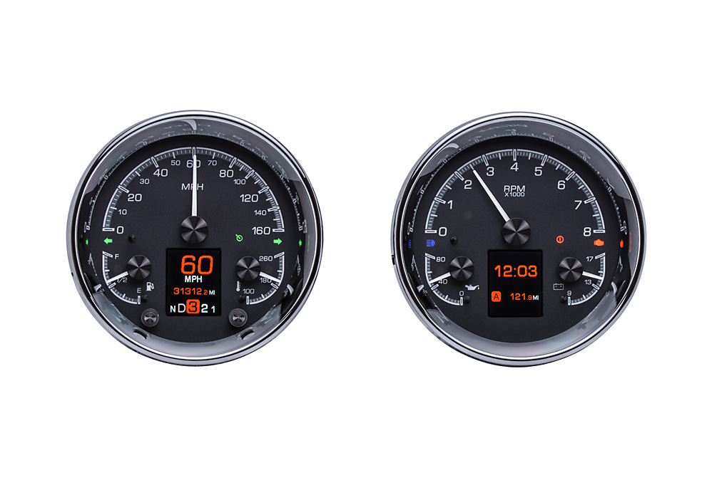 HDX-2014-K: Black Alloy Background with Indicators shown.