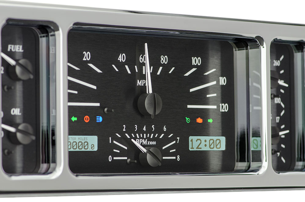VHX-35F: Black Alloy Background, White Lighting with Indicators shown.