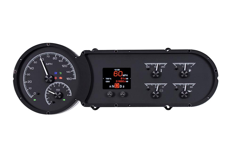 HDX-53C-K: Black Alloy Background with Indicators shown.
