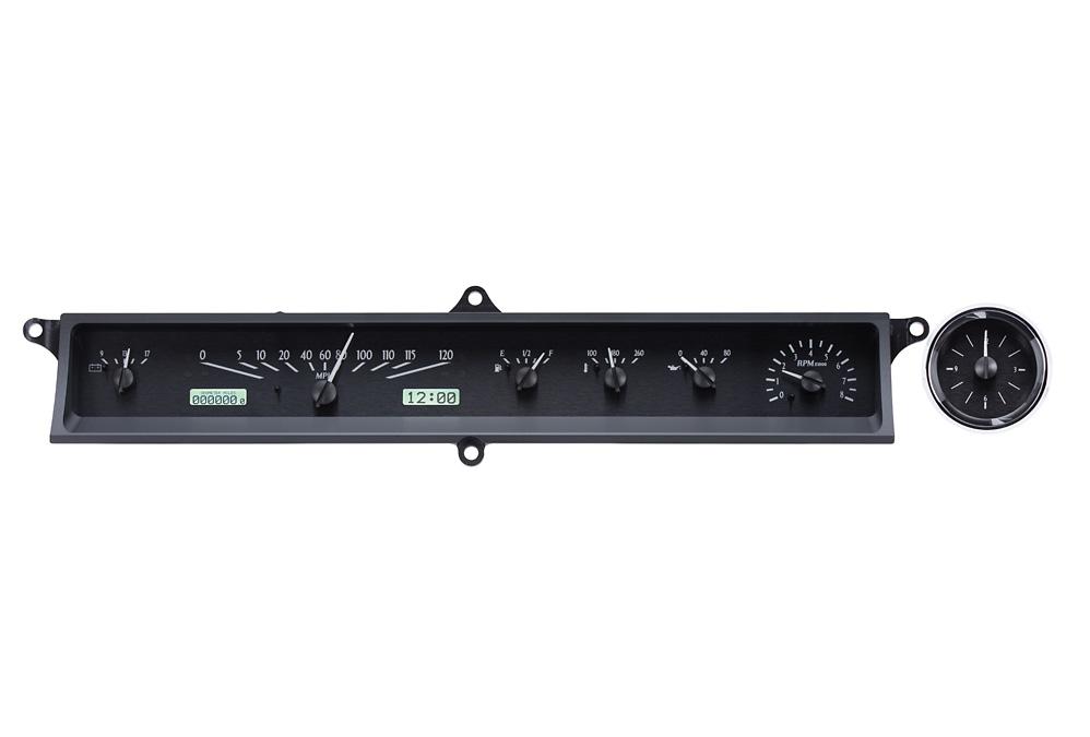 VHX-63C-CAD-K-W: Black Alloy Background, White Lighting