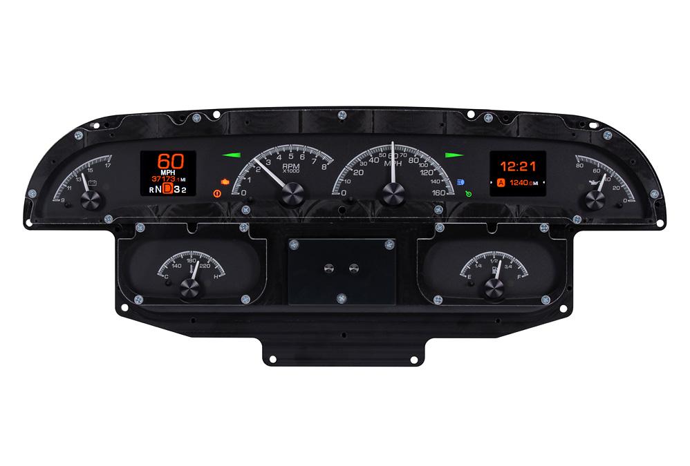 HDX-58C-IMP-K: Black Alloy Background with Indicators shown.