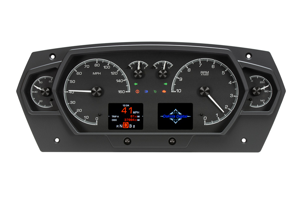 HDX-2200: Black Alloy Background with Indicators shown.