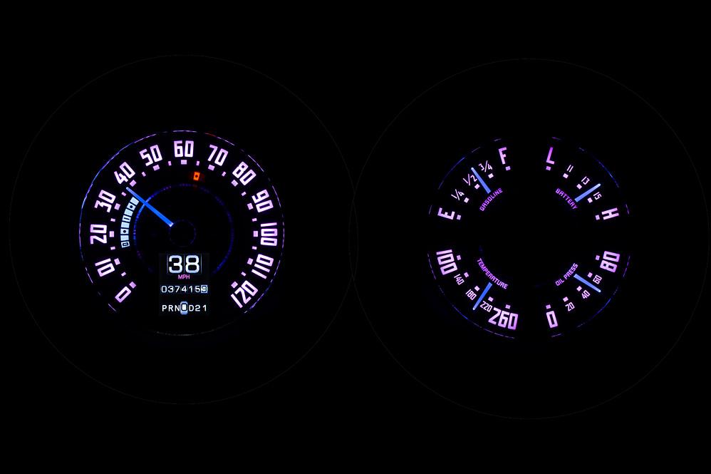 RTX-47C-PU-X Night Vivid Orchid Theme