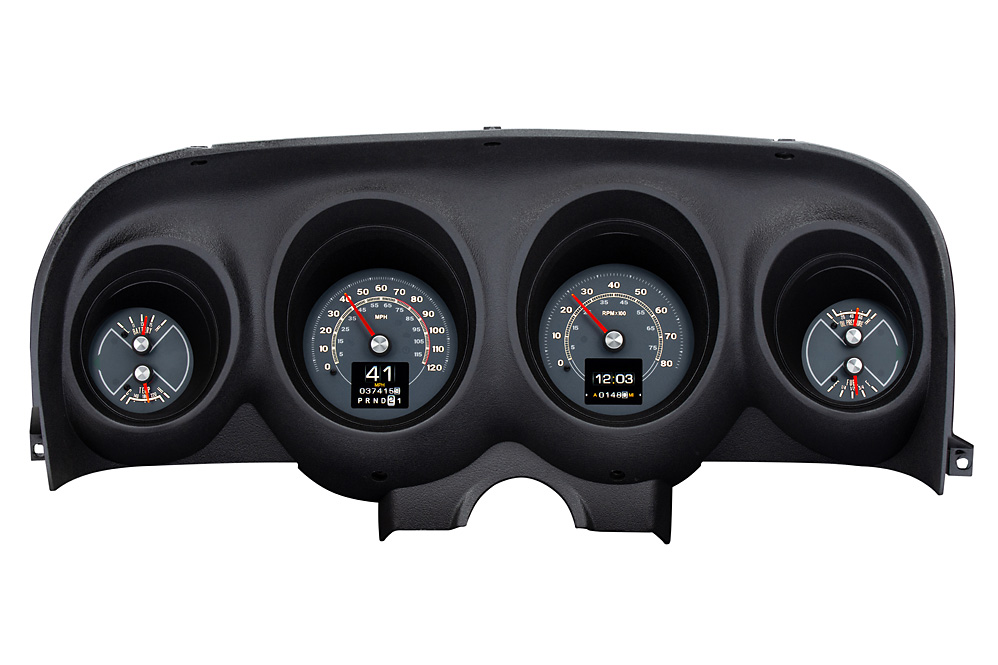 1969- 70 Ford Mustang shown with OEM dash/ trim/ bezel/ facia.