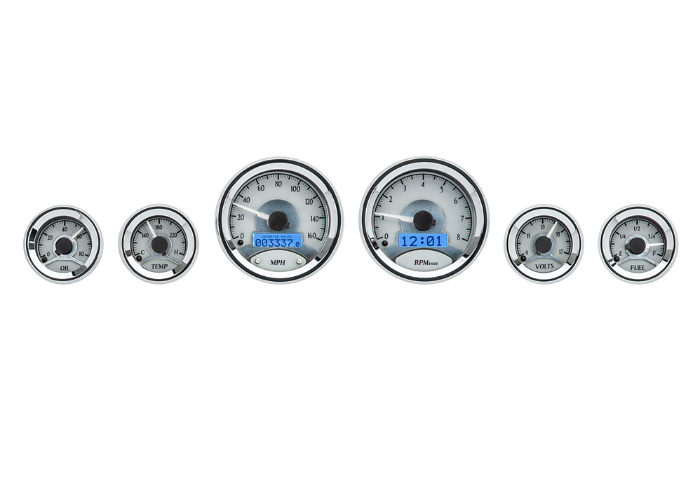 Silvery Alloy with Blue Lighting VHX-1060-S-B
